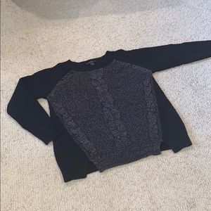 Style & Co marked cable sweater
